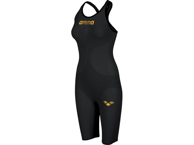 arena Powerskin Carbon Air 2 Full Body Short Leg Closed Back Dame black/black/gold